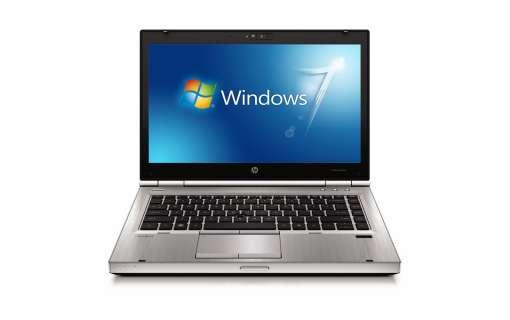 Ноутбук HP Elitebook 8460p-Intel Core-i5-2520M-2.5Gz-4Gb-DDR3-250Gb-HDD-DVD-RW-W14-W7P- Б/В
