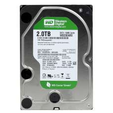 Жесткий диск 3.5 SATA III WD 2TB 64МB - Б/У