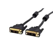 Кабель DVI-DVI 1.8m MIX (оргинал)- Б/У