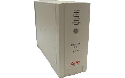 ДБЖ APC Back-UPS 800 (BR800-RS) (без батареї)- Б/В