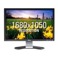 """Монітор 22"""" DELL E228WFPc 1680x1050 TN+film-(подряпини та підсівший екрані) УЦІНКА- Б/В"""