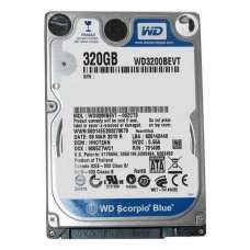 HDD WD 320GB 2.5- Б/В
